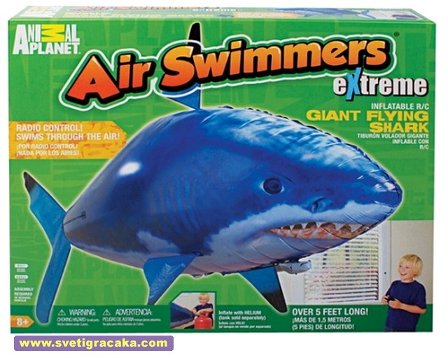 Air Swimmers Flying Shark - box - Animal Planet