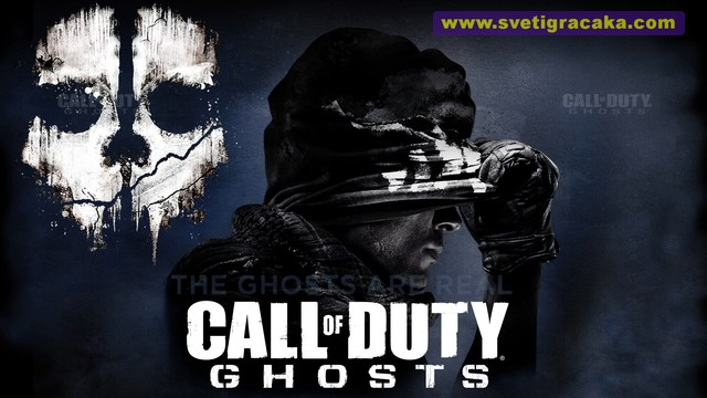 Call of Duty GHOSTS, logo, cover