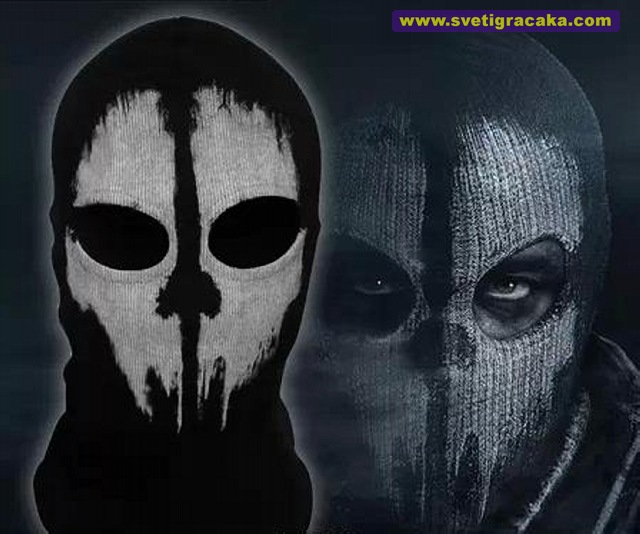 Call of Duty GHOSTS, ski mask, balaclava, masked person