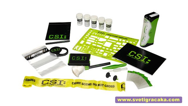 Edu Science CSI Fingerprint Analysis Kit