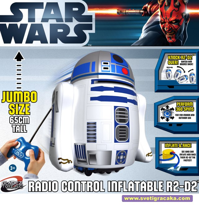 Bladez Toyz - Inflatable Star Wars R2-D2 - box