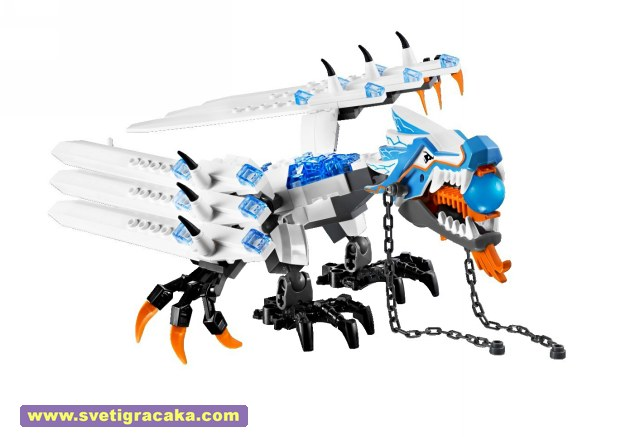 Lego Ninjago - 2260 Ice Dragon Attack