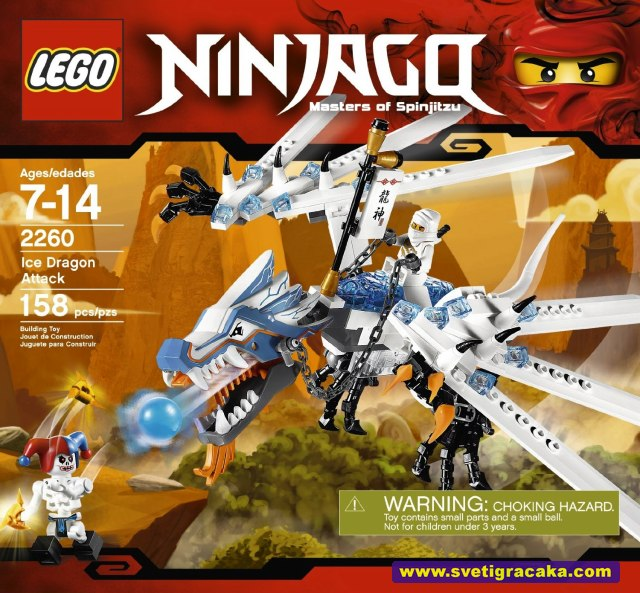 Lego Ninjago - 2260 Ice Dragon Attack - box