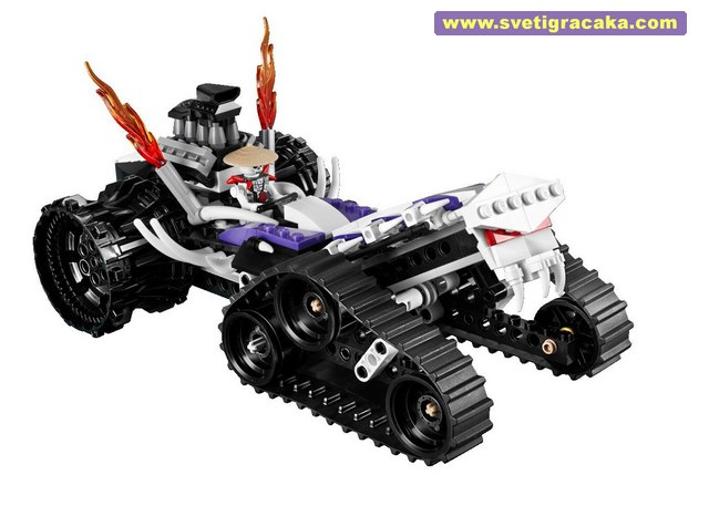 Lego Ninjago - 2263 Turbo Shredder