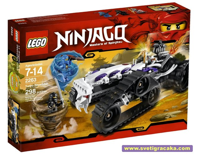 Lego Ninjago - 2263 Turbo Shredder - box