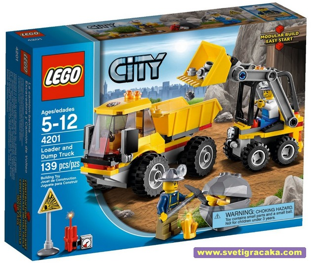 LEGO - City - Mining - 4201 Loader and Tipper - box