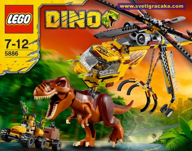 Lego DINO - 5886 T-Rex Hunter - Box