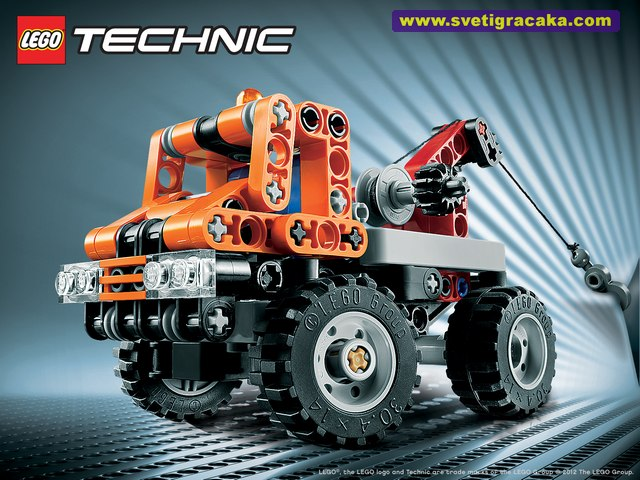 Lego - Technic - 9390 Mini Tow Truck