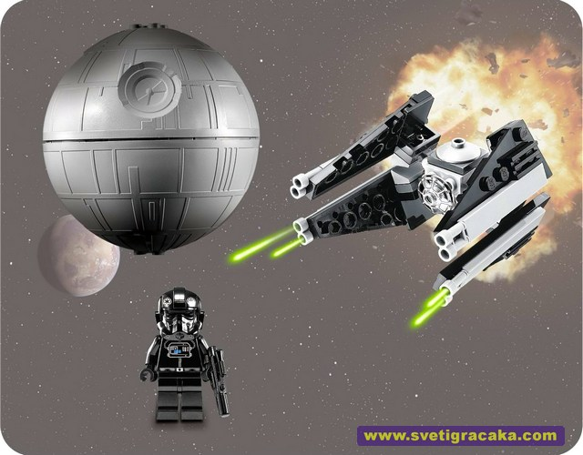 Lego Star Wars - 9676 TIE Interceptor & Death Star