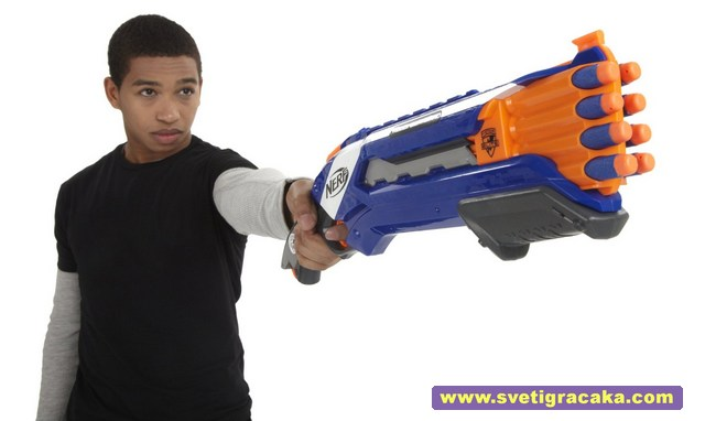 NERF N-Strike Elite ROUGH CUT 2X4 - Hasta la vista, baby!