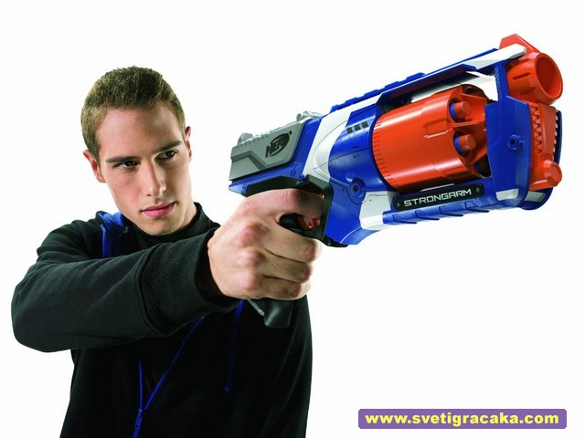 NERF N-Strike Elite STRONGARM - gunslinger