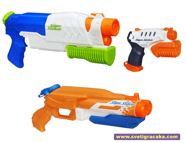 Nerf Super Soaker Blasters - new models