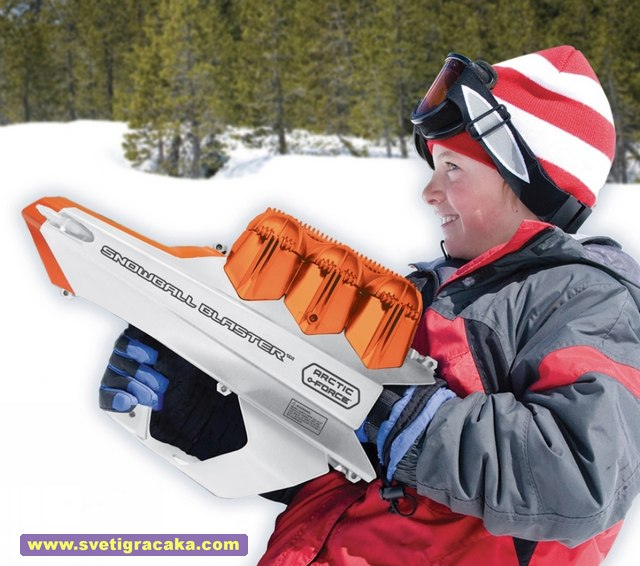 Wham-O - Arctic Force - Snowball Blaster
